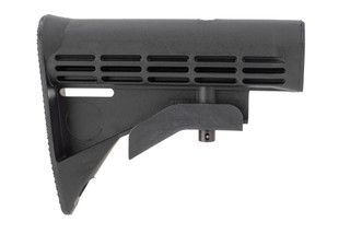 Radical Firearms M4 carbine buttstock is lightweight polymer adjustable butt stock for MIL-SPEC buffer tubes