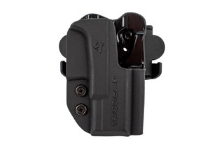 Comp Tac International Glock 19 Holster OWB is molded from Kydex for positive retention