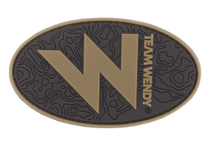 Team Wendy W Morale Patch in brown