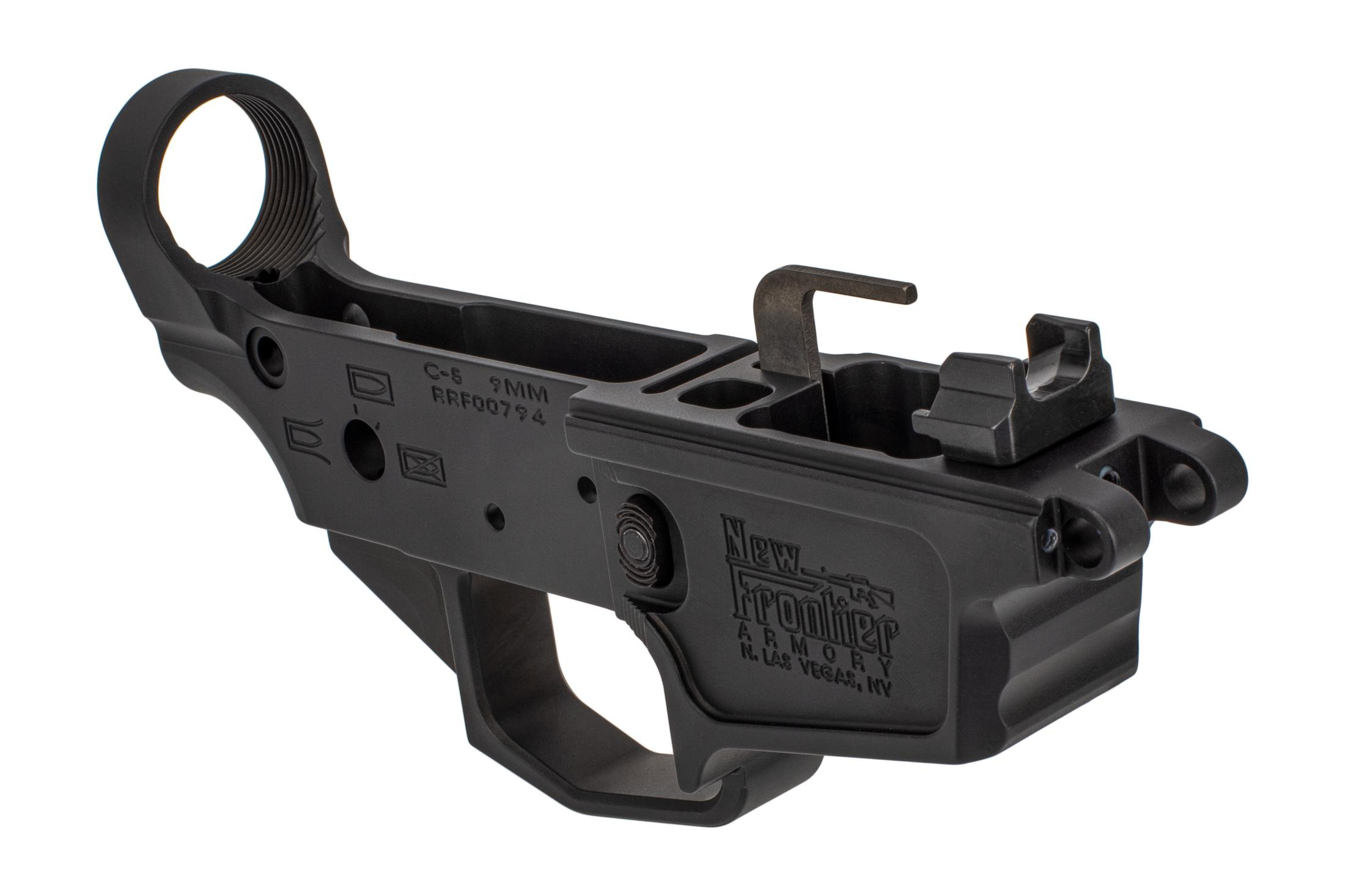 New Frontier Armory C5 9mm stripped lower compatible with 9mm MP5 Magazines
