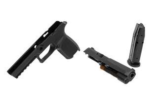 SIG P320 Caliber Conversion Kit comes with a 9mm barrel and 17 round magazine