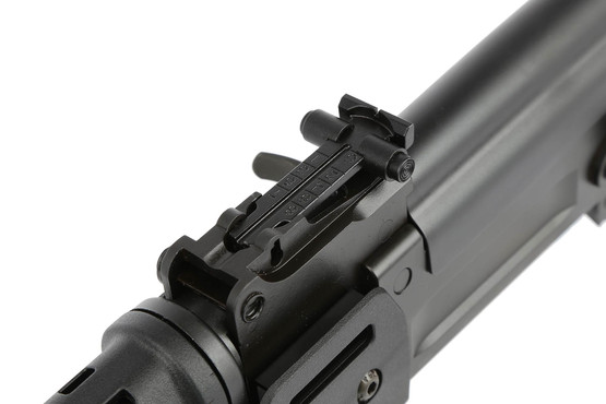 The Century International Arms C39 V2 AK 47 rifle comes with standard elevation adjustable iron sights