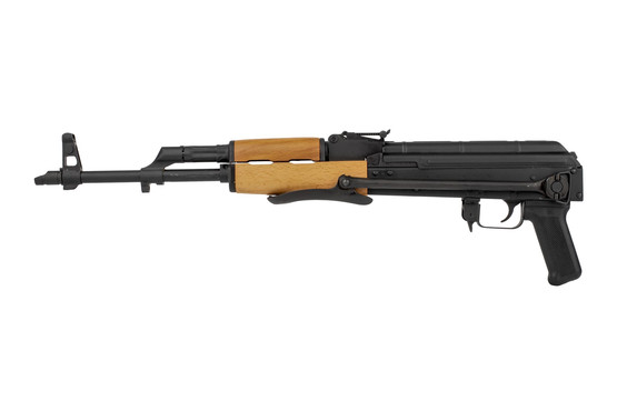 Romanian under fold AK-47, the WASR-10 imported by Century can be fired with the stock folded