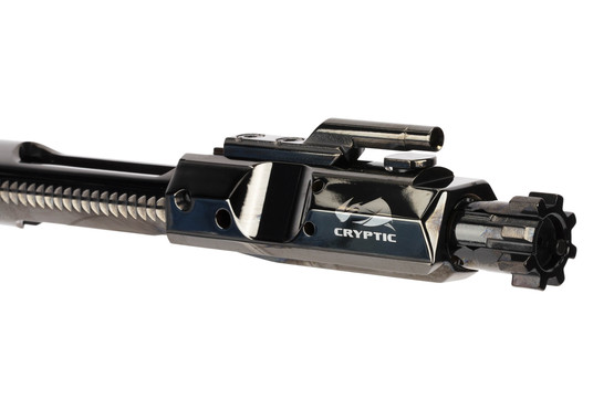 Cryptic Coatings  308 Win Bolt Carrier Group - Mystic Black