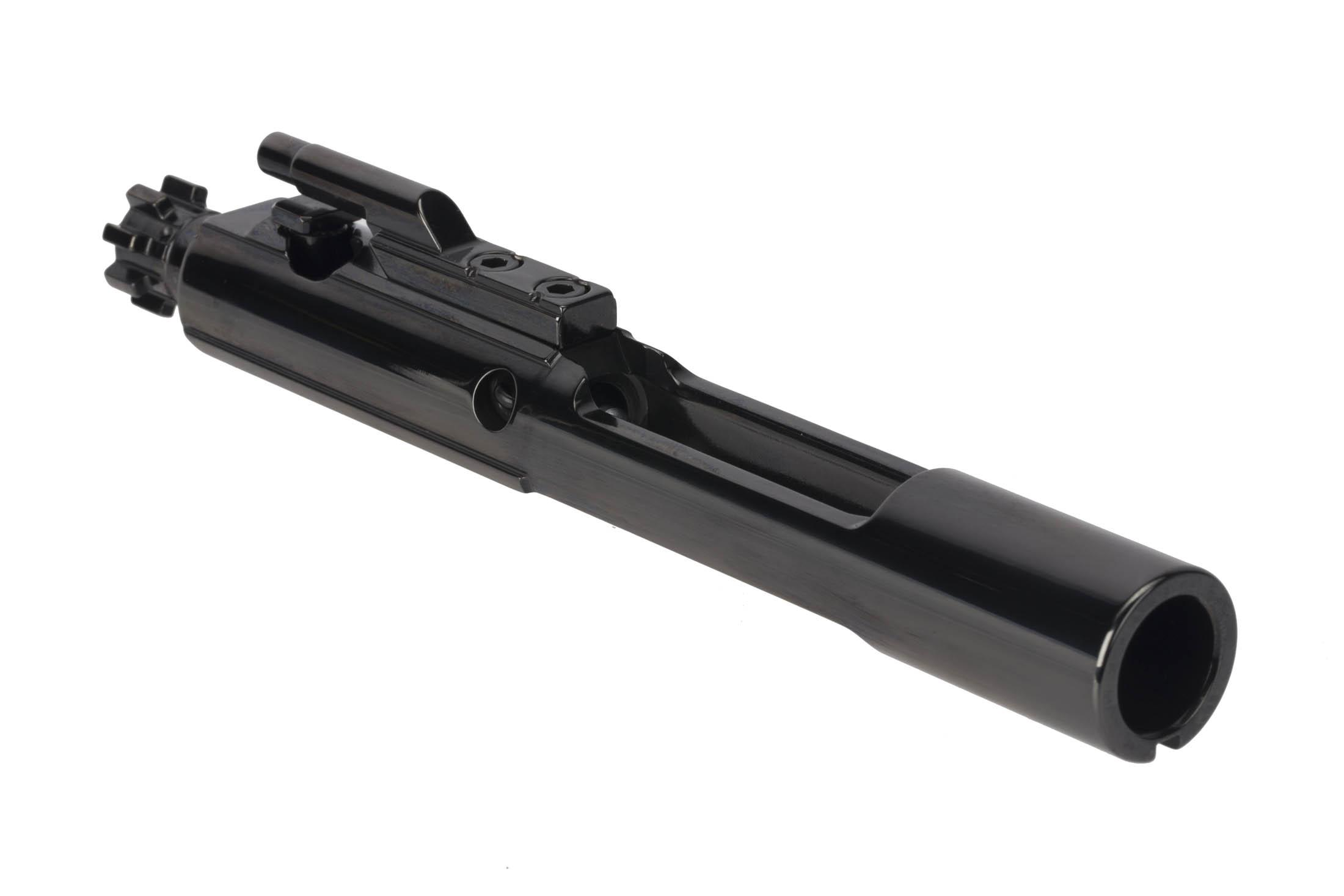 Cryptic Coatings AR-15 bolt carrier group for .458 SOCOM with Mystic Black finish features a full M16 profile tail
