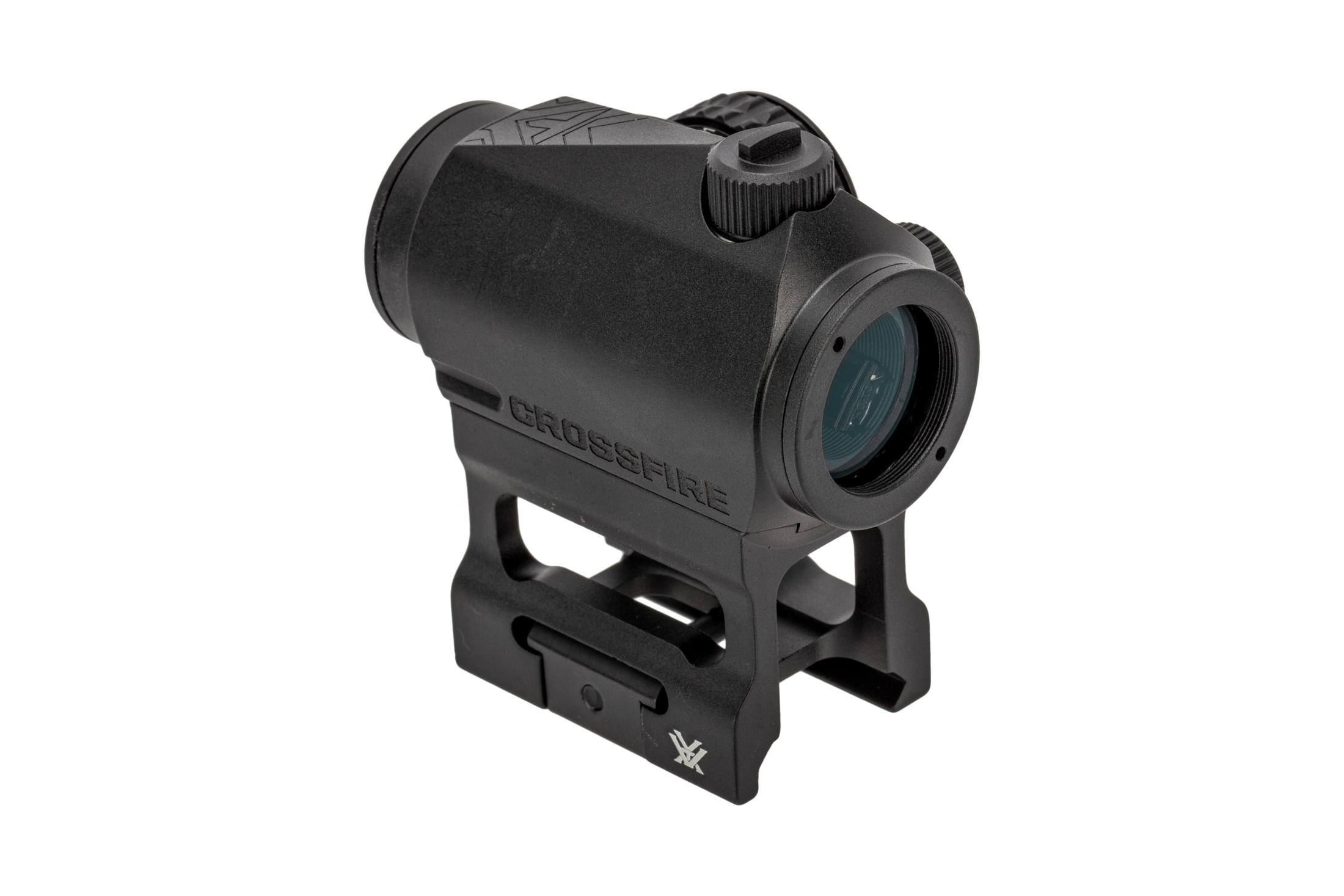 Vortex Optics Crossfire II 2 MOA red dot sight for the AR 15 with skeletonized mount.
