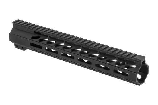 "Ghost Firearms 12"" free float M-LOK handguard for the AR-15 with black anodized finish and no logos."