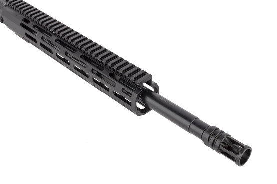 Radical Firearms 16in 5.56 NATO complete upper receiver for the AR-15 is threaded 1/2x28 with an effective A2 flash hider