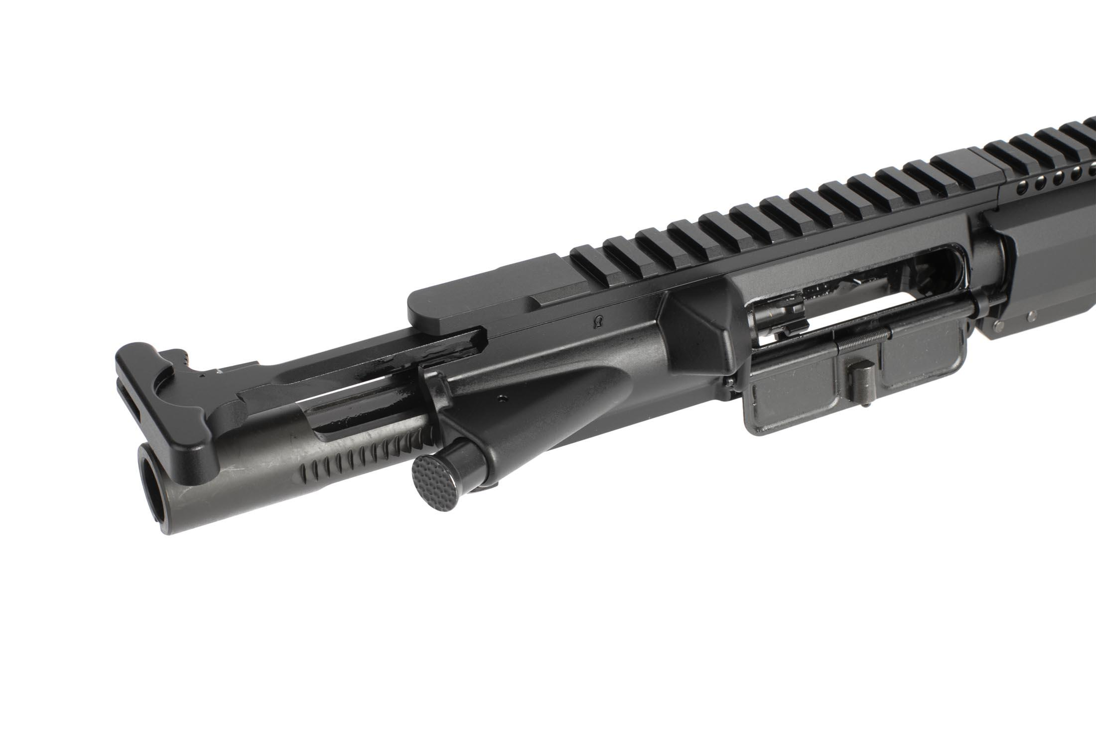 Radical's complet upper half with 16in SOCOM 5.56 barrel and 15in M-LOK FCR Gen 3 rail has an M16 bolt carrier group for reliability