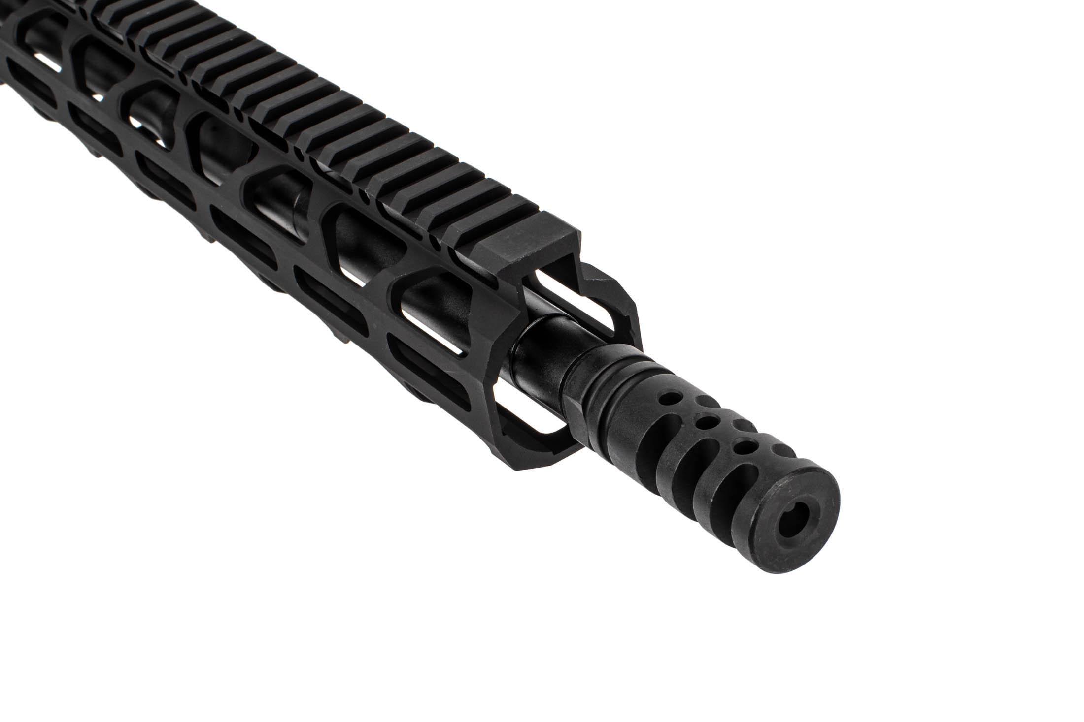 The Radical Firearms AR15 complete upper 16 inch features the zero impulse muzzle brake