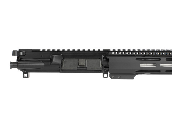 Radical 18in complete .223 Wylde ar 15 upper has a flat top receiver with forward assist and ejection port door cover