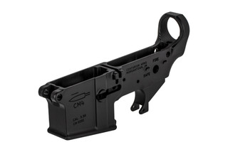 The Centurion Arms CM4 Forged AR15 stripped lower receiver is made from 7075-T6 aluminum