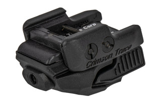 Crimson Trace Rail Master universal green laser sight with black body for handguns and carbines