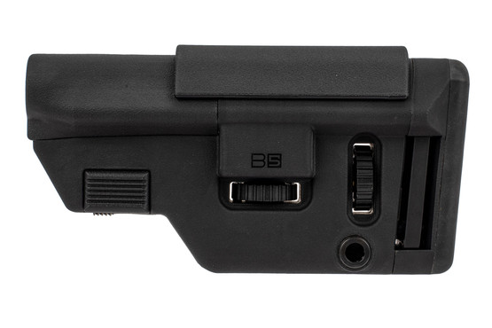 B5 Systems 556 Collapsible Precision Stock features an internal tensioner to eliminate rattle