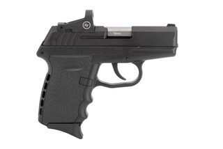 SCCY CPX-2 9mm Pistol with Red Dot features a stainless steel slide with black nitride finish