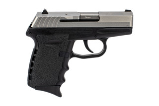 SCCY CPX-2 9mm sub-compact handgun in stainless