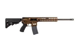 LMT CQB 300 blackout ar15 rifle comes in burnt bronze