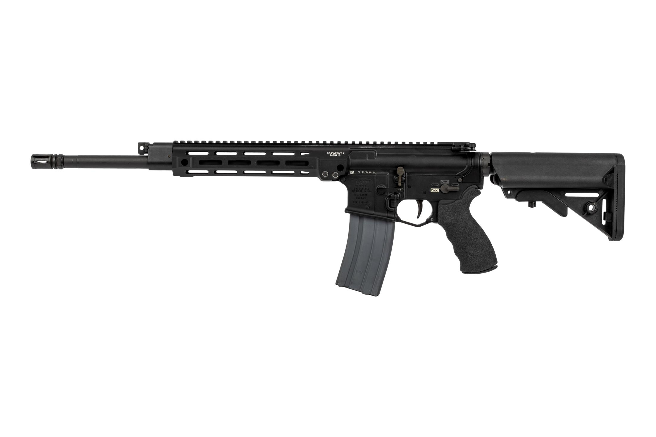 LMT MLC MARS Piston AR15 5.56 features fully ambidextrous controls
