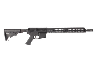 Bear Creek Arsenal 5.56 NATO complete AR-15 rifle with 16in barrel features a reliable carbine length gas system.