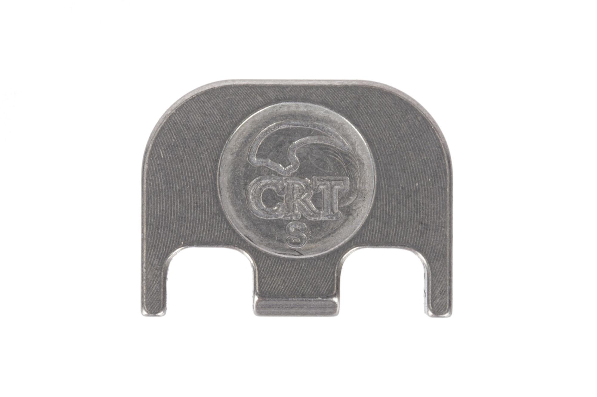 Classy Raptor Tactical III%er Standard Stainless Steel Glock Back Plate - Brushed