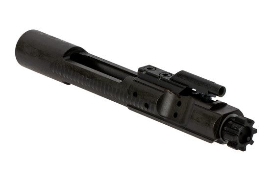 The Colt M16 Bolt Carrier Group features a durable parkerized finish