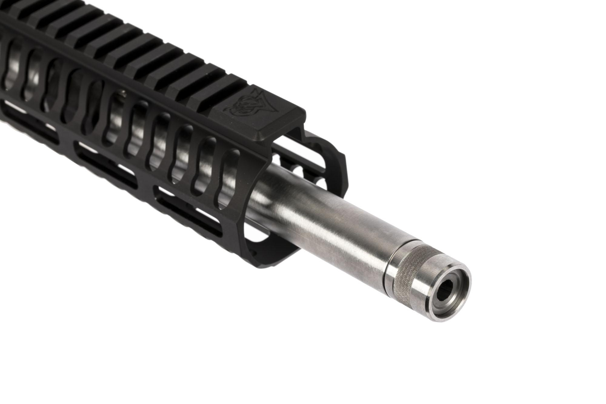 ODIN Works 18in 6.5 Grendel comes with a M-LOK handguard with a full length picatinny top rail