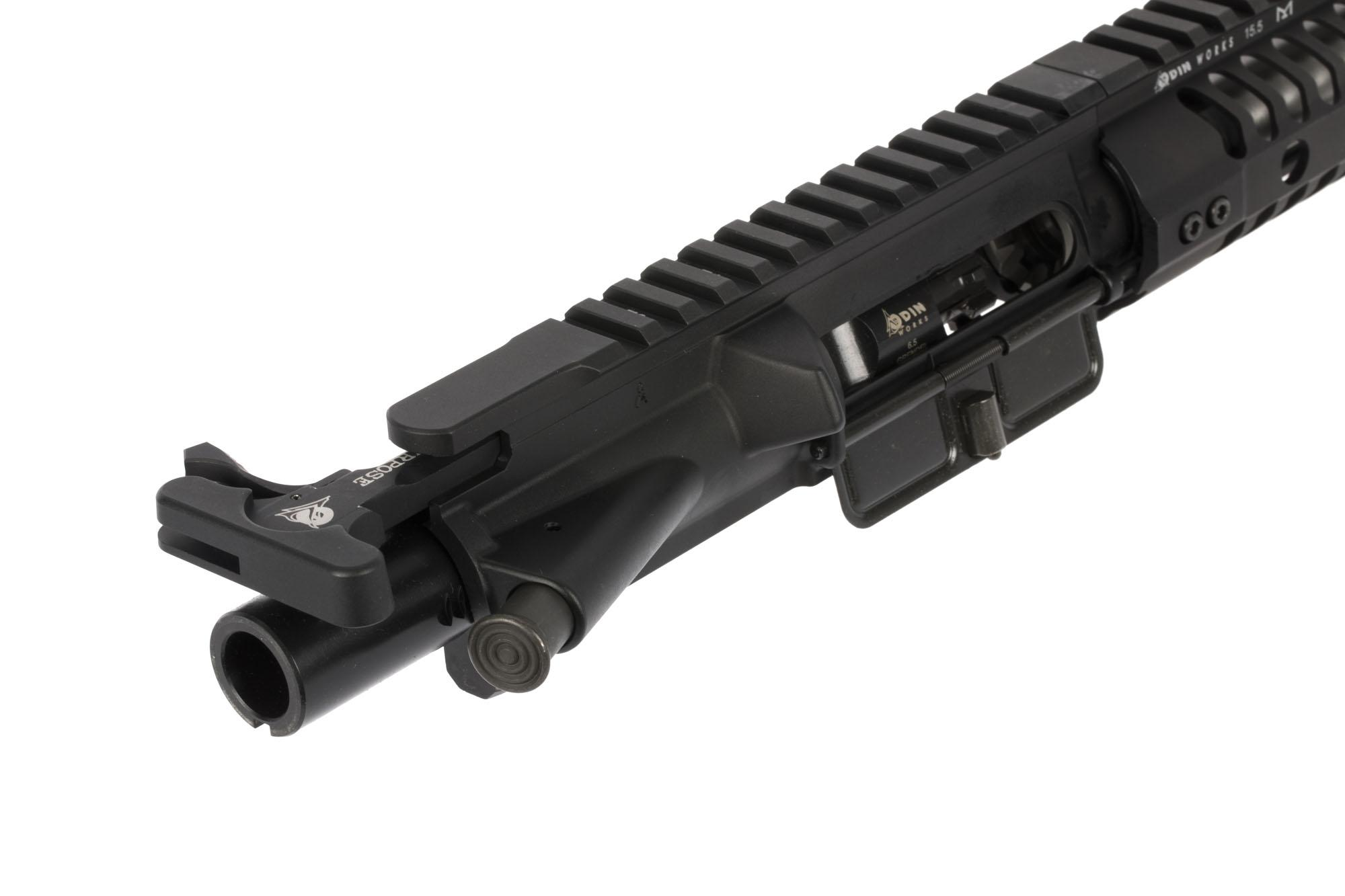 ODIN Works 18in 6.5 Grendel come with a black Nitride coated bolt carrier group