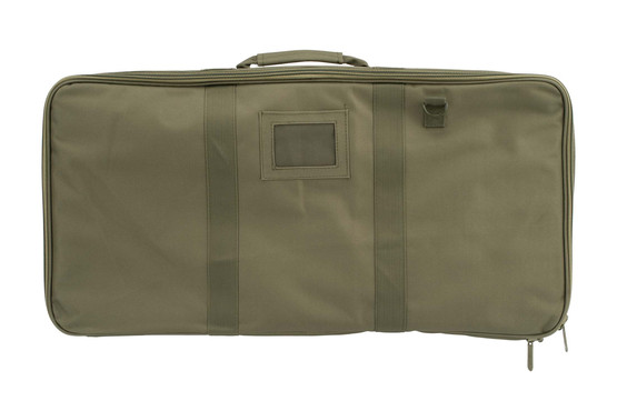 NcSTAR Discreet Rifle Case is a 26in x 13in green rifle case designed to secure and protect your favorite carbine