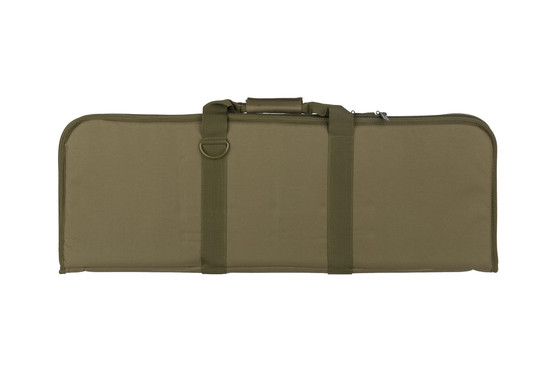 "NcSTAR olive drab green 36"" carbine case is padded to protect your favorite rifle or carbine"