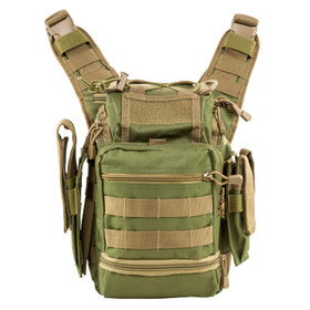 NcSTAR VISM first responders bag comes in green and tan