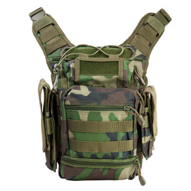 NcSTAR first responders utility bag comes in woodland camo