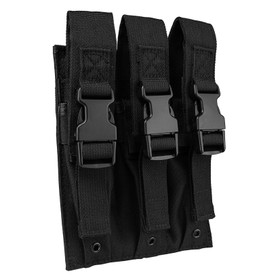 NcSTAR VISM triple magazine pouch in black