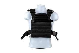 The NcSTAR VISM Fast plate carrier for 10x12 plates is made from black Nylon