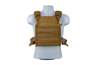 The NcSTAR VISM Fast Plate Carrier in FDE is designed for 10x12 armor plates