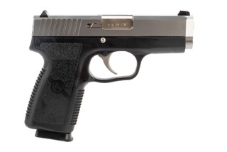 Kahr Arms CW9 9mm pistol features a stainless steel slide