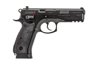 CZ USA CZ-75 SP-01 full size 18-round handgun with 4.6in barrel, DA/SA trigger and ambidextrous safety.