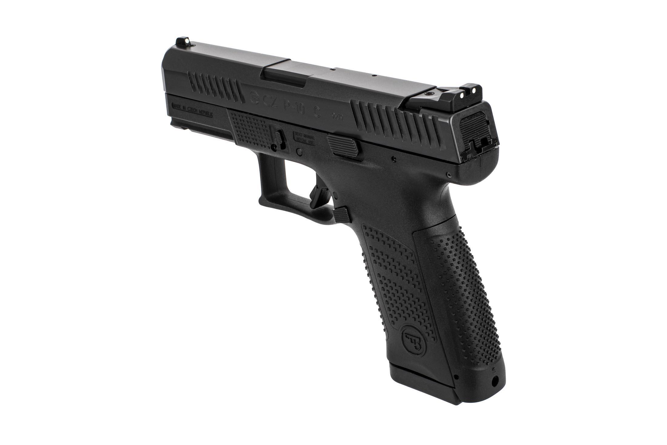 CZ USA P-10 C Striker Fired Compact 9mm Pistol Black - 15 Round
