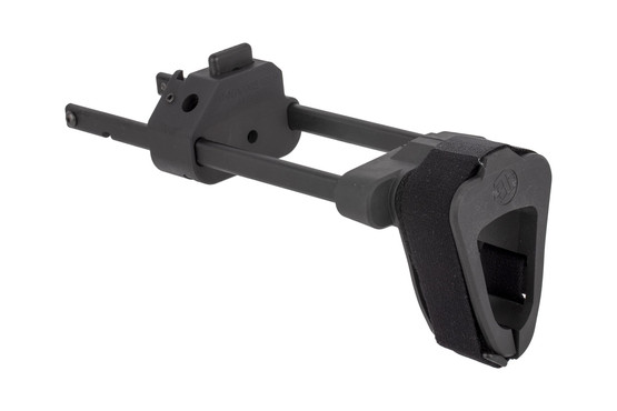 The SB Tactical Scorpion Evo Brace housing is machined from 6061 aluminum