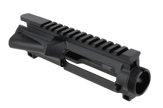 The Anderson Manufacturing 458 SOCOM Stripped upper receiver is forged from 7075 aluminum with hardcoat anodized finish