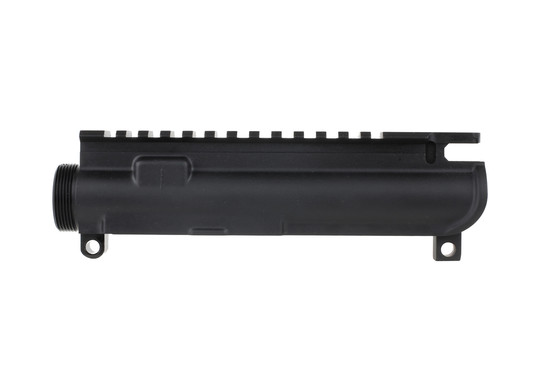 The Anderson Manufacturing best 458 SOCOM upper has an enlarged ejection port for the large brass casings