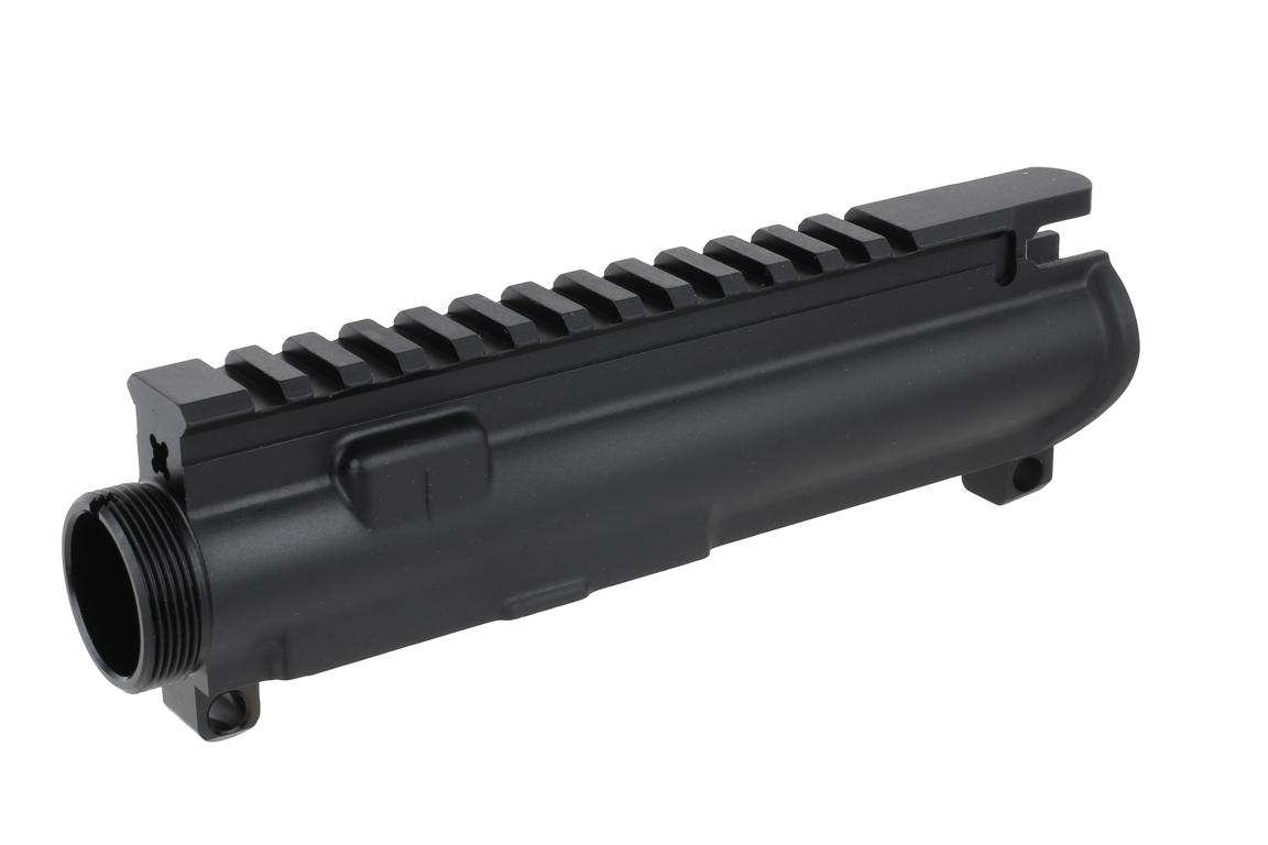 The Anderson MFG 458 SOCOM upper for sale utilizes M4 feed ramps for reliability