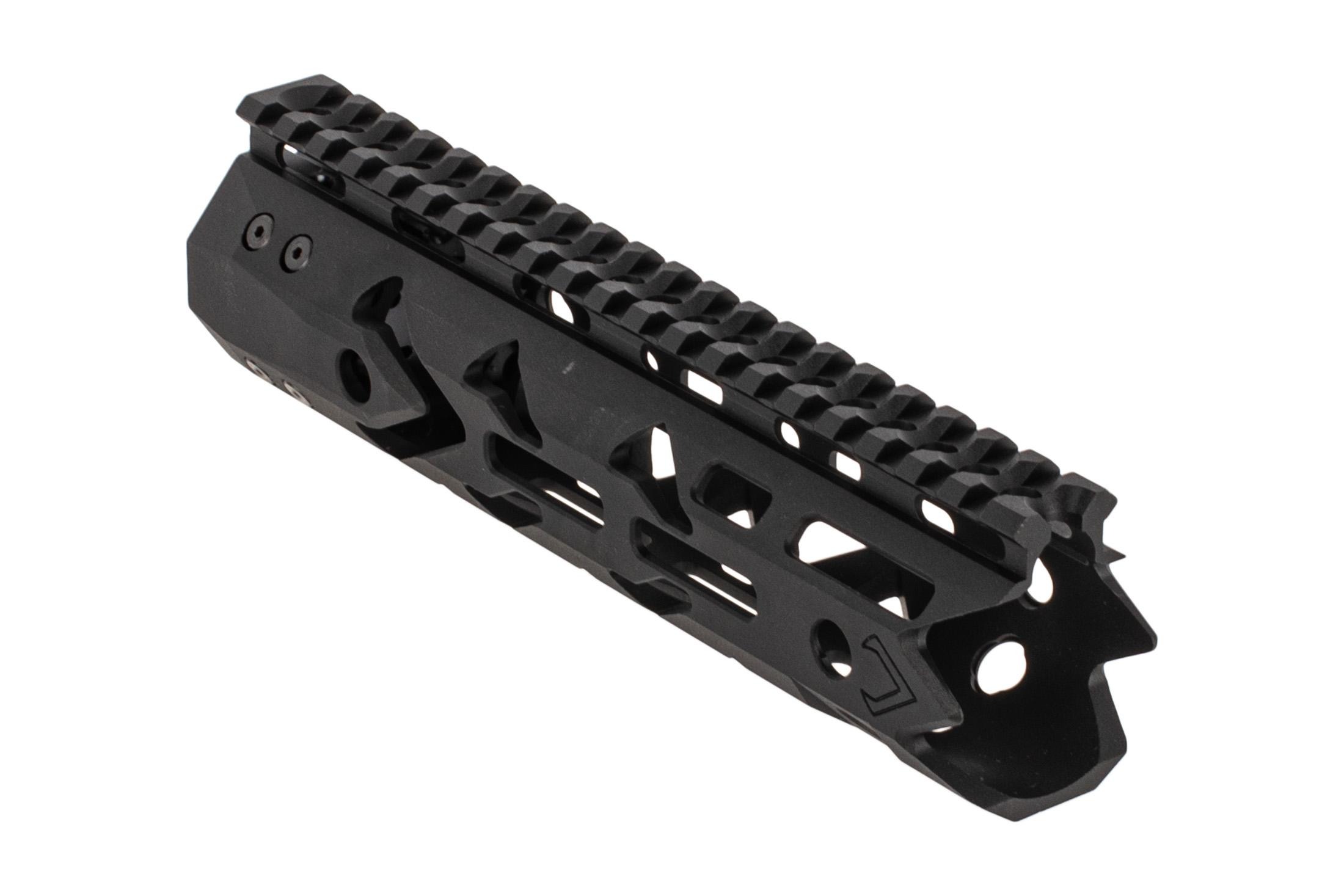 F1 Firearms D7M Dynamis Handguard 8 inch features a scalloped picatinny top rail