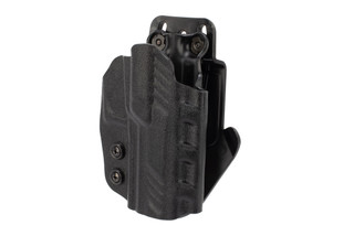 DeSantis SIG P320C Paddle Holster is made from kydex