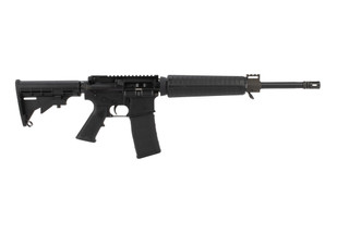 Armalite M15 carbine features a 16 inch barrel