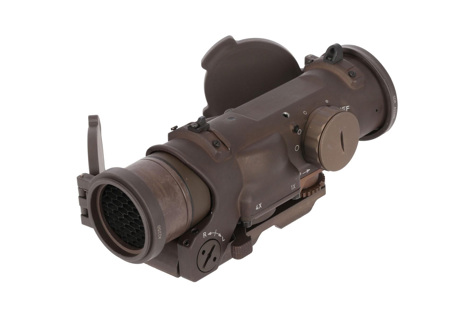 ELCAN SpecterDR Dual Role 1x/4x 5.56 Optical Sight - Flat Dark Earth