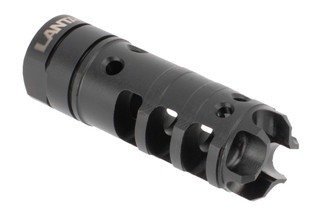 Lantac's 9x19mm Dragon Muzzle Brake has a Short Energy Pulse system that reduces recoil and improves accuracy