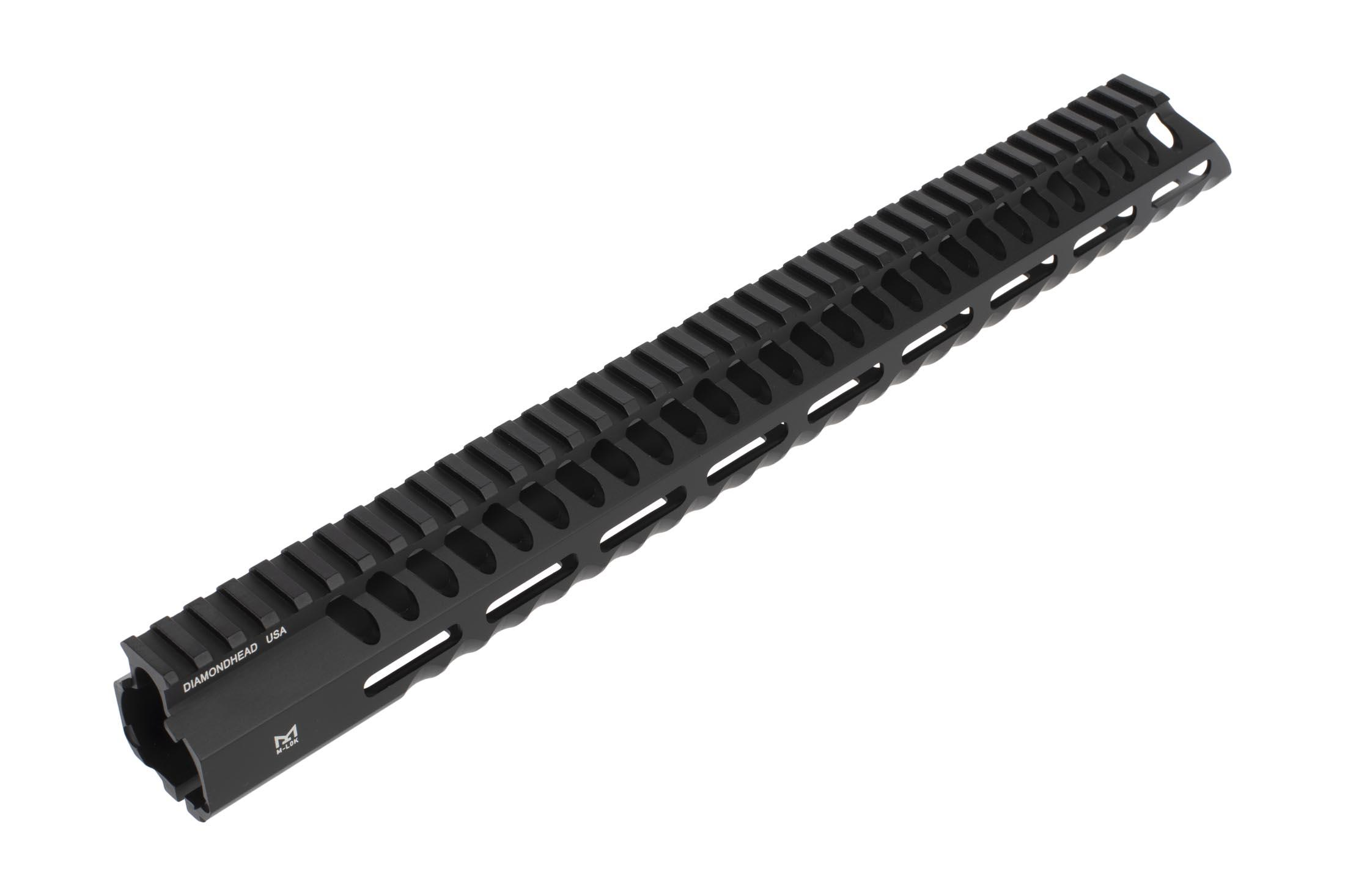 Diamondhead USA Series 3 VRS-T free float 15in AR15 handguard features anti-rotation tabs and M-LOK compatibility