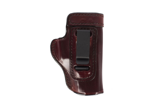 Don Hume H715-M Clip-On Holster - GLOCK 19 - Right Hand - Brown Leather