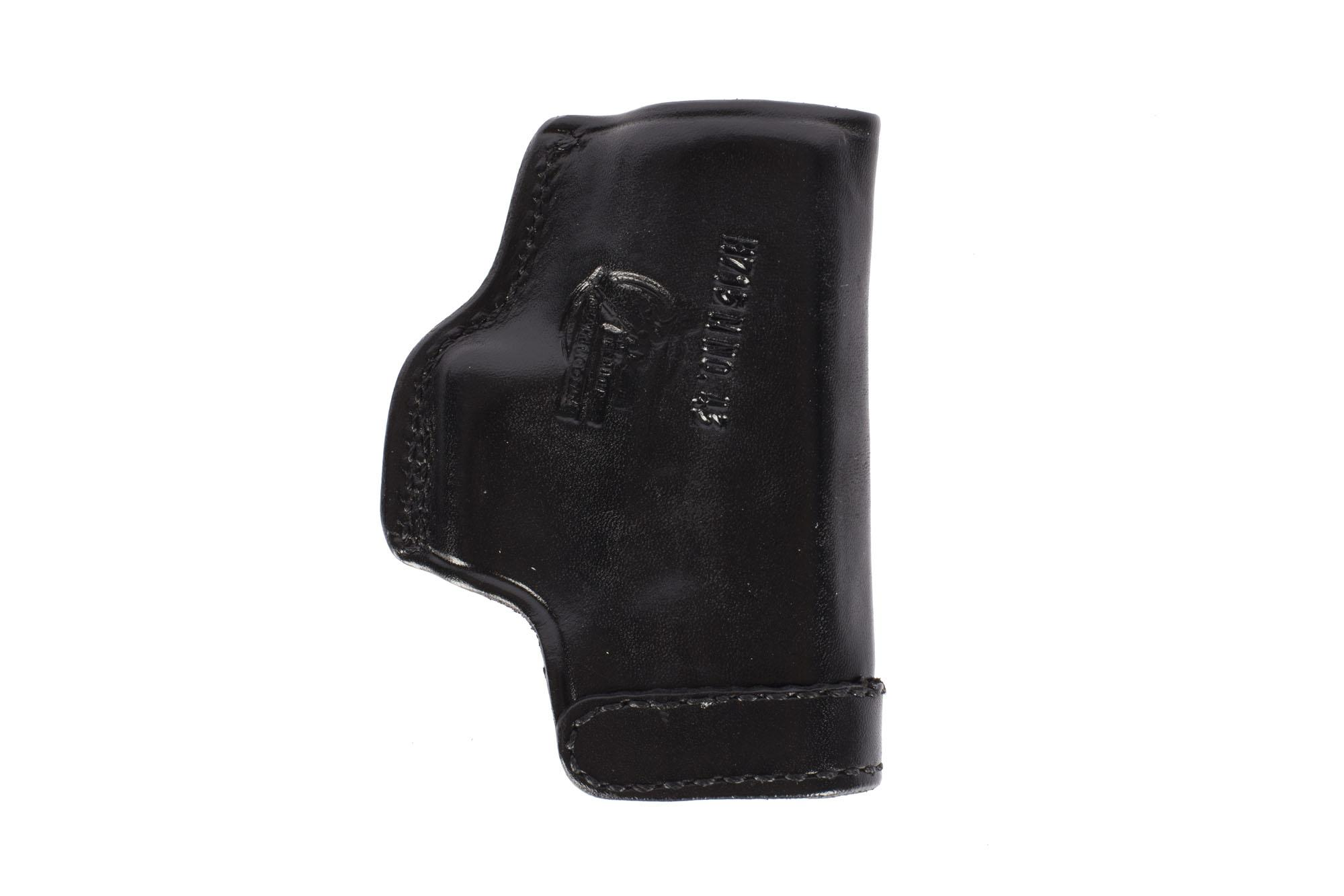 Don Hume H715-M Clip-On Holster - GLOCK 43 - Right Hand - Black Leather