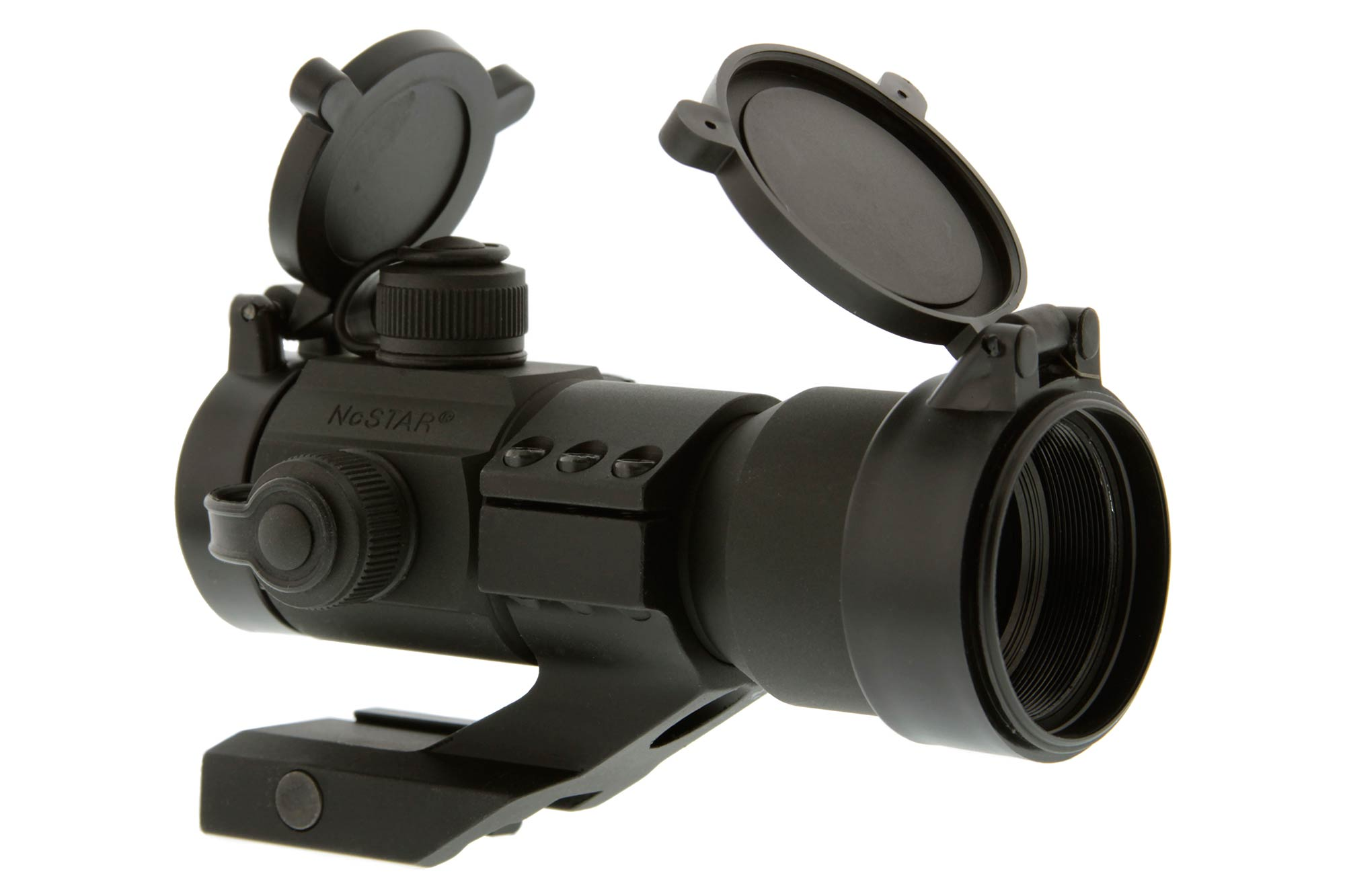 NcSTAR 1x35mm Red Dot Optic with Cantilever Mount - Red-Green-Blue Reticle